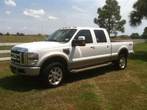 2008 ford f350 king ranch crew cab 4x4 for sale in sarasota florida classified. Black Bedroom Furniture Sets. Home Design Ideas