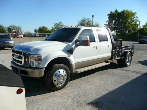 2008 ford f450 crew cab king ranch 4x2 diesel 9 39 skirted. Black Bedroom Furniture Sets. Home Design Ideas