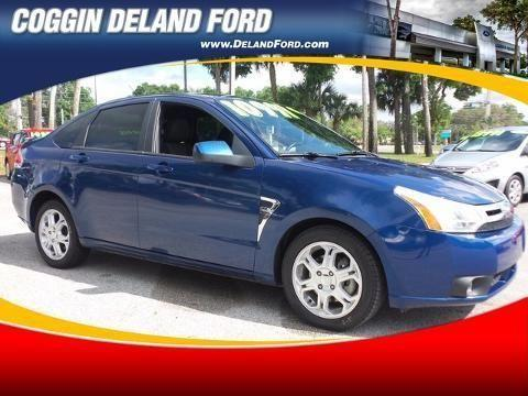 2008 FORD FOCUS 4 DOOR SEDAN
