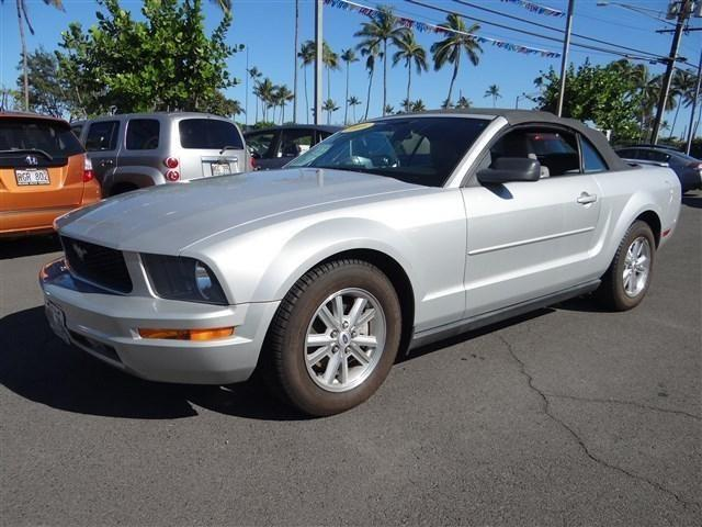 2008 ford mustang 2dr convertible v6 for sale in kahului hawaii classified. Black Bedroom Furniture Sets. Home Design Ideas