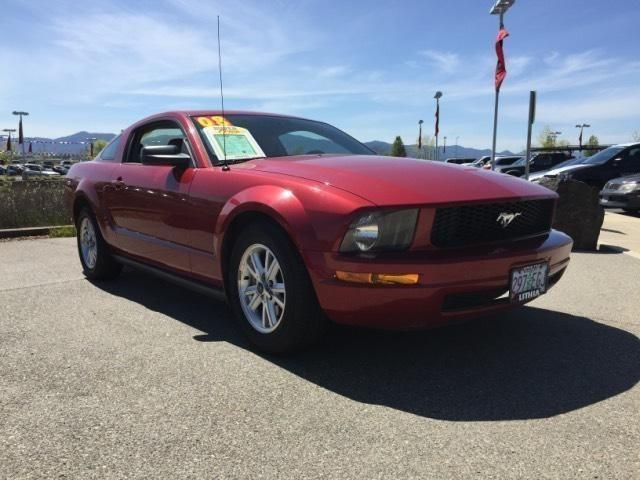2008 ford mustang 2dr coupe v6 for sale in medford oregon. Black Bedroom Furniture Sets. Home Design Ideas