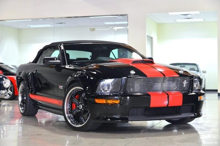 2008 Ford Mustang Shelby Supercharged Barrett Jackson