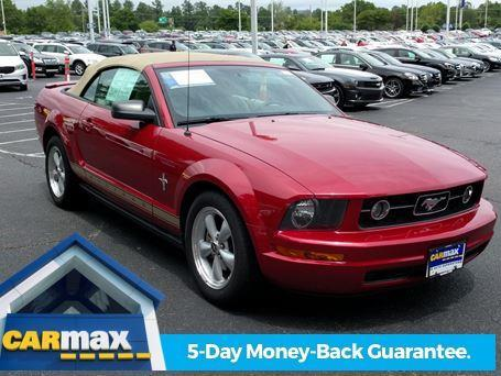 2008 Ford Mustang V6 Deluxe V6 Deluxe 2dr Convertible For Sale In