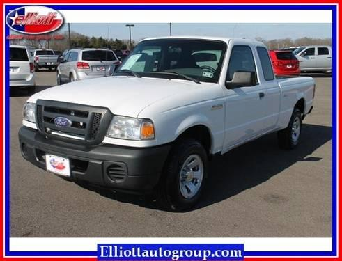 2008 ford ranger pickup truck 2wd 2dr supercab 126 xl for sale in mount pleasant texas. Black Bedroom Furniture Sets. Home Design Ideas