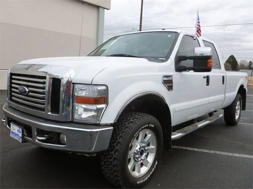 2008 FORD Super Duty F-350 SRW Pickup Truck 4WD CREW