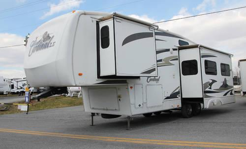 2008 Forest River Cardinal 30rk Le 5th Wheel Trailer For