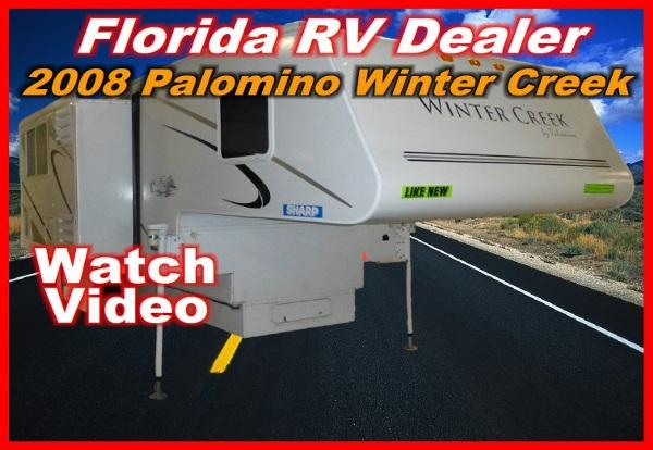 2008 forest river palomino winter creek 115 rs for sale in port charlotte florida classified. Black Bedroom Furniture Sets. Home Design Ideas