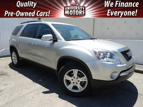 2008 gmc acadia 4 dr for sale in nashville tennessee classified. Black Bedroom Furniture Sets. Home Design Ideas
