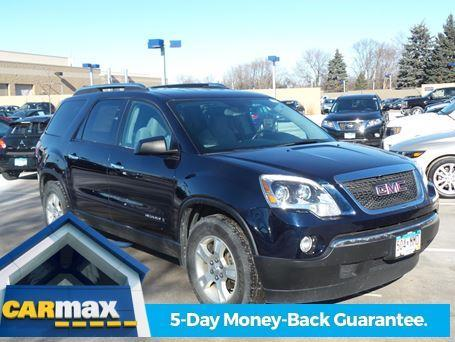 2008 gmc acadia sle 1 sle 1 4dr suv for sale in. Black Bedroom Furniture Sets. Home Design Ideas