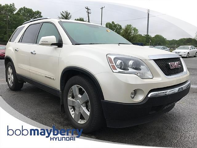 2008 gmc acadia slt 2 awd slt 2 4dr suv for sale in monroe north carolina classified. Black Bedroom Furniture Sets. Home Design Ideas
