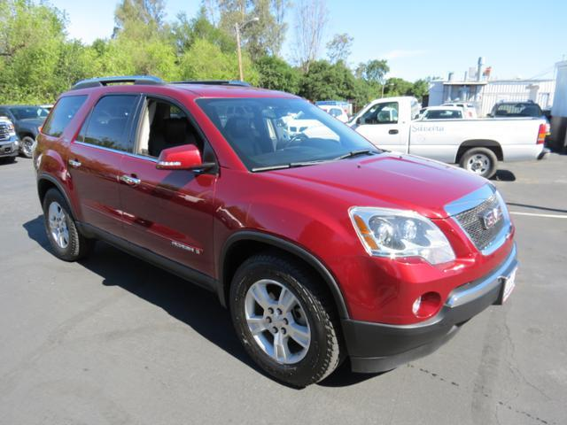 2008 gmc acadia slt 2 healdsburg ca for sale in healdsburg california classified. Black Bedroom Furniture Sets. Home Design Ideas