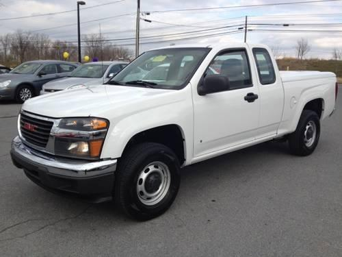 Len Stoler Jeep >> 2008 GMC Canyon Extended Cab Pickup - Short Bed Work Truck ...
