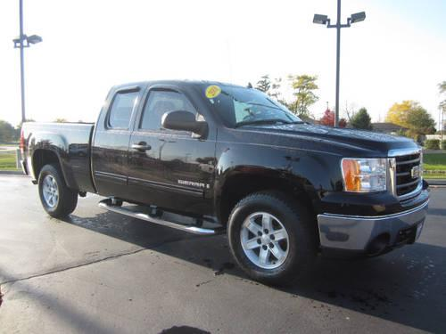 2008 gmc sierra 1500 extended cab pickup 4x4 sle for sale in kenosha wisconsin classified. Black Bedroom Furniture Sets. Home Design Ideas