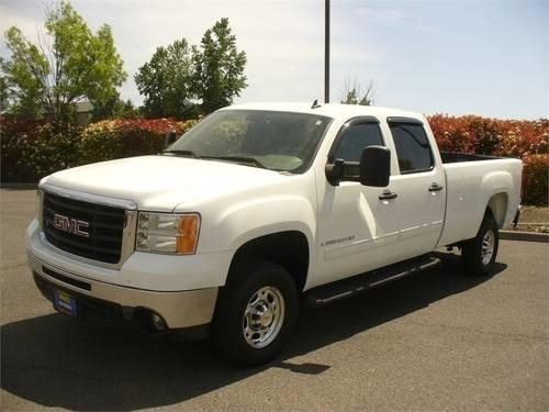"Hertz Auto Sales >> 2008 GMC Sierra 2500HD Pickup Truck 2WD CREW CAB 153"" SLE1 for Sale in Medford, Oregon ..."