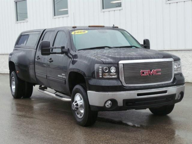 2008 gmc sierra 3500hd slt 4wd slt 4dr crew cab lb drw for sale in meskegon michigan classified. Black Bedroom Furniture Sets. Home Design Ideas