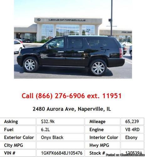 2008 Gmc Yukon Transmission: 2008 GMC Yukon Xl Denali Onyx Black SUV V8 For Sale In