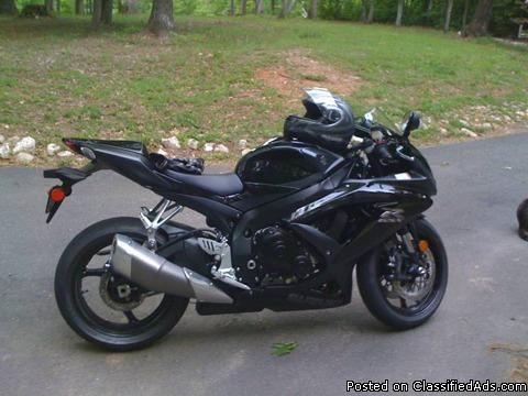 2008 gsxr 750 for sale in stafford virginia classified. Black Bedroom Furniture Sets. Home Design Ideas