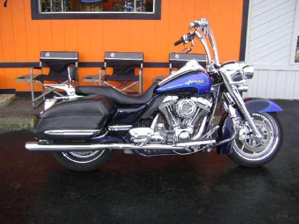 2008 harley davidson cvo screamin 39 eagle road king for sale in asheville north carolina. Black Bedroom Furniture Sets. Home Design Ideas