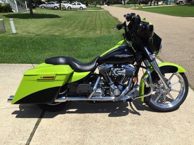 2008 harleydavidson touring street glide for sale in new orleans louisiana classified. Black Bedroom Furniture Sets. Home Design Ideas