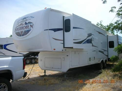2008 Heartland Bighorn 3370rl Fifth Wheel Rv For Sale In Camp Mccoy Wisconsin Classified