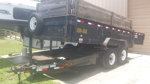 2008 Heavy Duty Load-Trail Dump Trailer