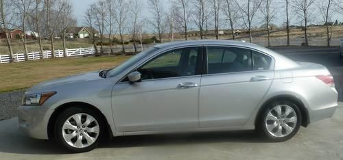 2008 honda accord ex l sdn v6 silver loaded low miles 44 958 like new for sale in mae. Black Bedroom Furniture Sets. Home Design Ideas