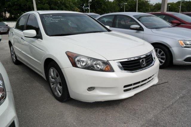 2008 Honda Accord EX-L V6 EX-L V6 4dr Sedan 5A
