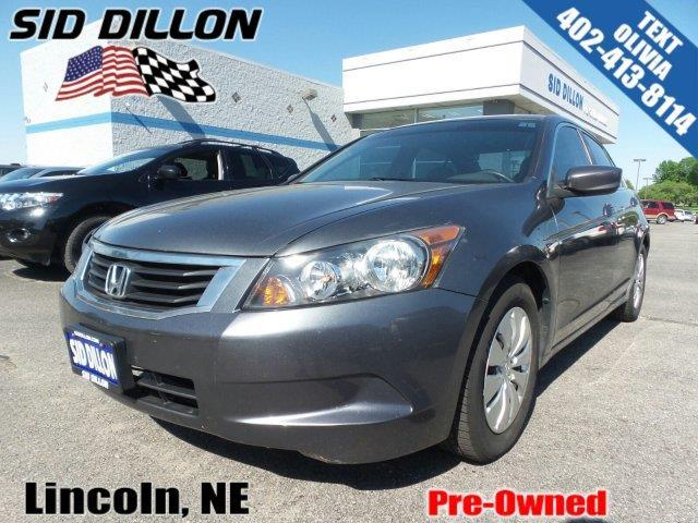 2008 Honda Accord Lx Lx 4dr Sedan 5a For Sale In Lincoln