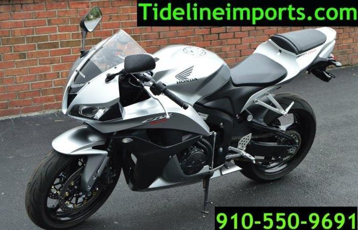 2008 Honda CBR 600RR Horizontal In-line 599 cc