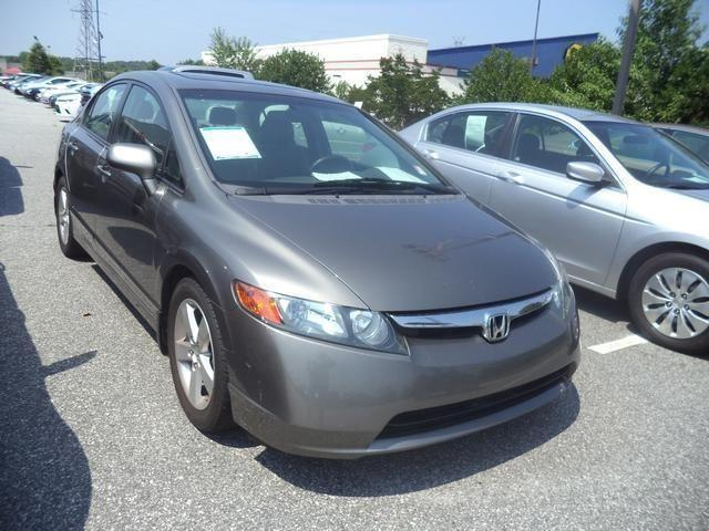 2008 honda civic 4d sedan ex l for sale in anderson south. Black Bedroom Furniture Sets. Home Design Ideas