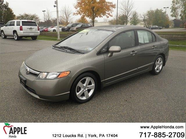 2008 Honda Civic EX-L EX-L 4dr Sedan 5A