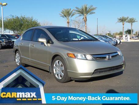 2008 Honda Civic LX LX 4dr Sedan 5A