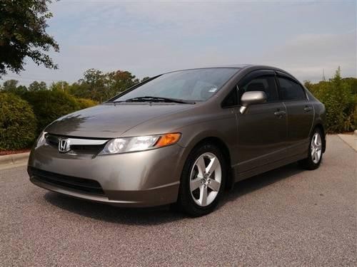 2008 honda civic sdn 4dr car ex l with sunroof leather. Black Bedroom Furniture Sets. Home Design Ideas