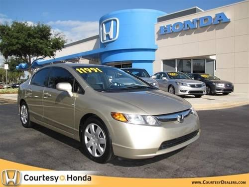 2008 HONDA Civic Sdn Sedan 4dr Auto LX
