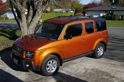 2008 honda element ex w custom bed platform bluetooth roof racks for sale in bellevue. Black Bedroom Furniture Sets. Home Design Ideas