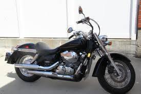 2008 Honda Shadow areo (black)