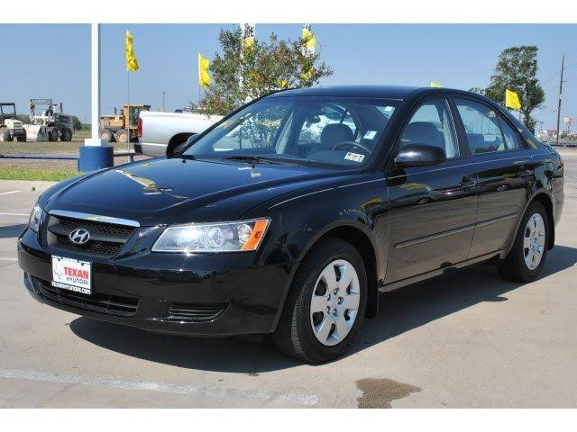 2008 hyundai sonata gls for sale in rosenberg texas. Black Bedroom Furniture Sets. Home Design Ideas