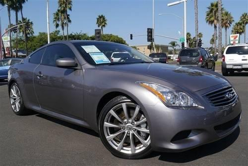 2008 infiniti g37 coupe 2dr car for sale in pacific beach california. Black Bedroom Furniture Sets. Home Design Ideas