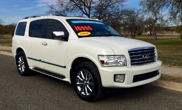2008 infiniti qx56 4wd 4dr for sale in san antonio texas classified. Black Bedroom Furniture Sets. Home Design Ideas