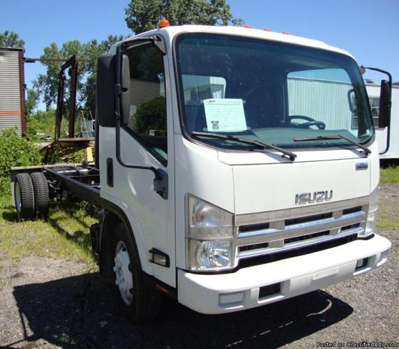 2008 ISUZU NQR/NR3 CAB & CHASSIS For Sale In Columbia