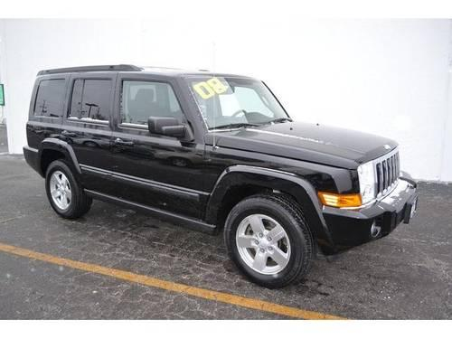 2008 jeep commander 4d sport utility sport for sale in antioch illinois classified. Black Bedroom Furniture Sets. Home Design Ideas