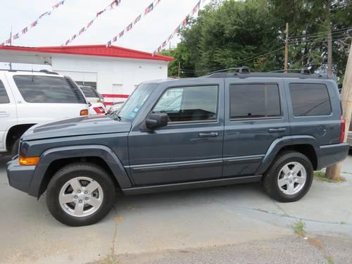 2008 Jeep Commander, slate blue, panormaic roof, 3rd row ...