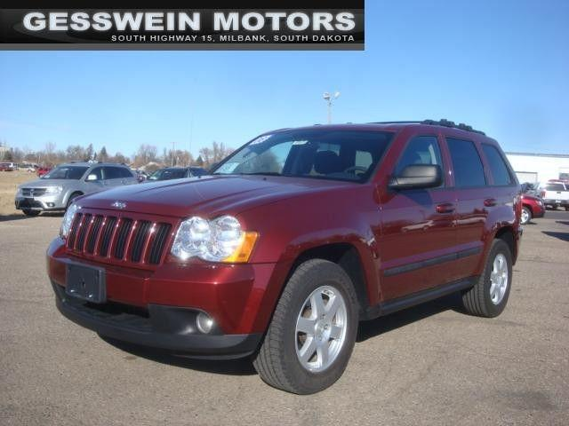 2008 jeep grand cherokee laredo for sale in milbank south dakota classified. Black Bedroom Furniture Sets. Home Design Ideas