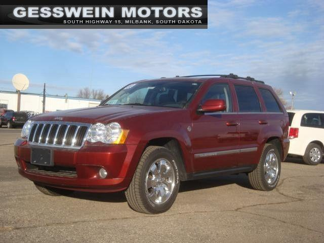 2008 jeep grand cherokee limited for sale in milbank south dakota classified. Black Bedroom Furniture Sets. Home Design Ideas