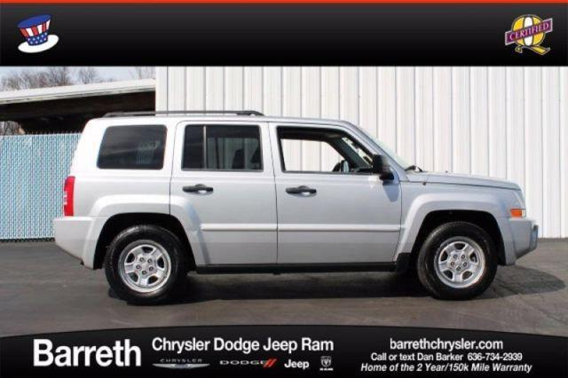 2008 jeep patriot sport for sale in campbellton missouri. Black Bedroom Furniture Sets. Home Design Ideas