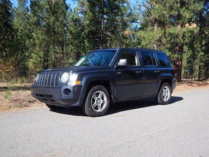2008 jeep patriot sport sport 4dr suv w cj1 side airbag. Black Bedroom Furniture Sets. Home Design Ideas