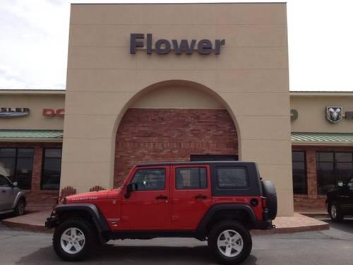 2008 jeep wrangler convertible unlimited rubicon for sale for Flower motor company montrose co 81401