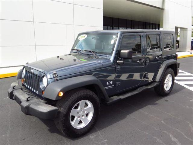 2008 jeep wrangler rwd 4dr unlimited x for sale in brooksville florida classified. Black Bedroom Furniture Sets. Home Design Ideas