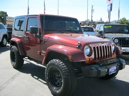 2008 jeep wrangler suv sahara for sale in spokane. Black Bedroom Furniture Sets. Home Design Ideas