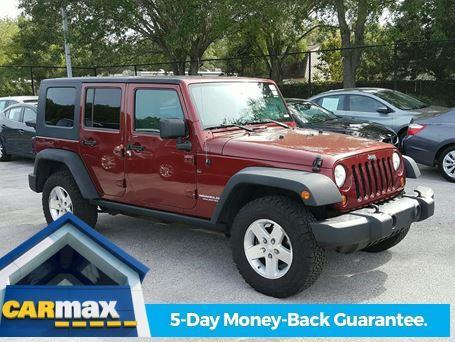 2008 jeep wrangler unlimited rubicon 4x4 rubicon 4dr suv for sale in clearwater florida. Black Bedroom Furniture Sets. Home Design Ideas